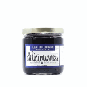 Red Camper Desert Blueberry Gin Jam 9oz