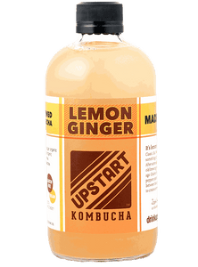 Upstart Lemon Ginger Kombucha