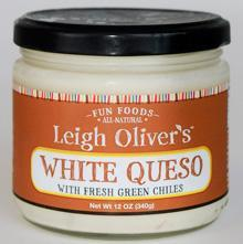 Leigh Oliver's White Queso w/ Fresh Green Chilies