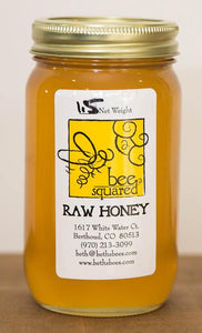 Bee Squared Honey 1 Pint Jar