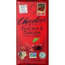 Chocolove Crystallized Ginger 3.2oz