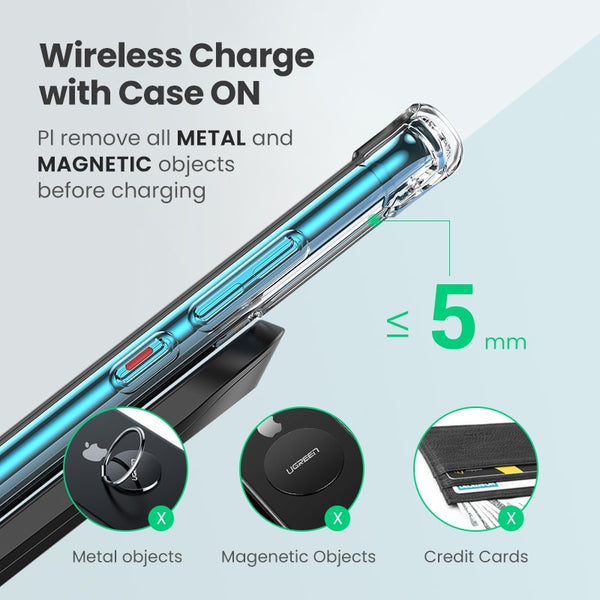 Qi Wireless Charger Stand for Phone Models