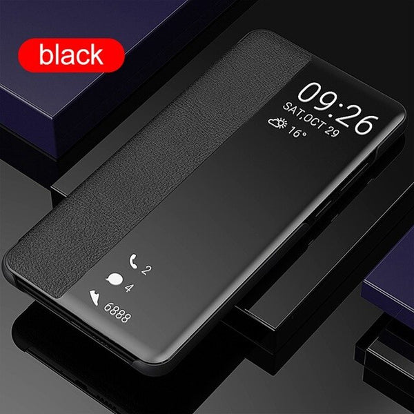 Smart Flip Case For Huawei P30 Pro