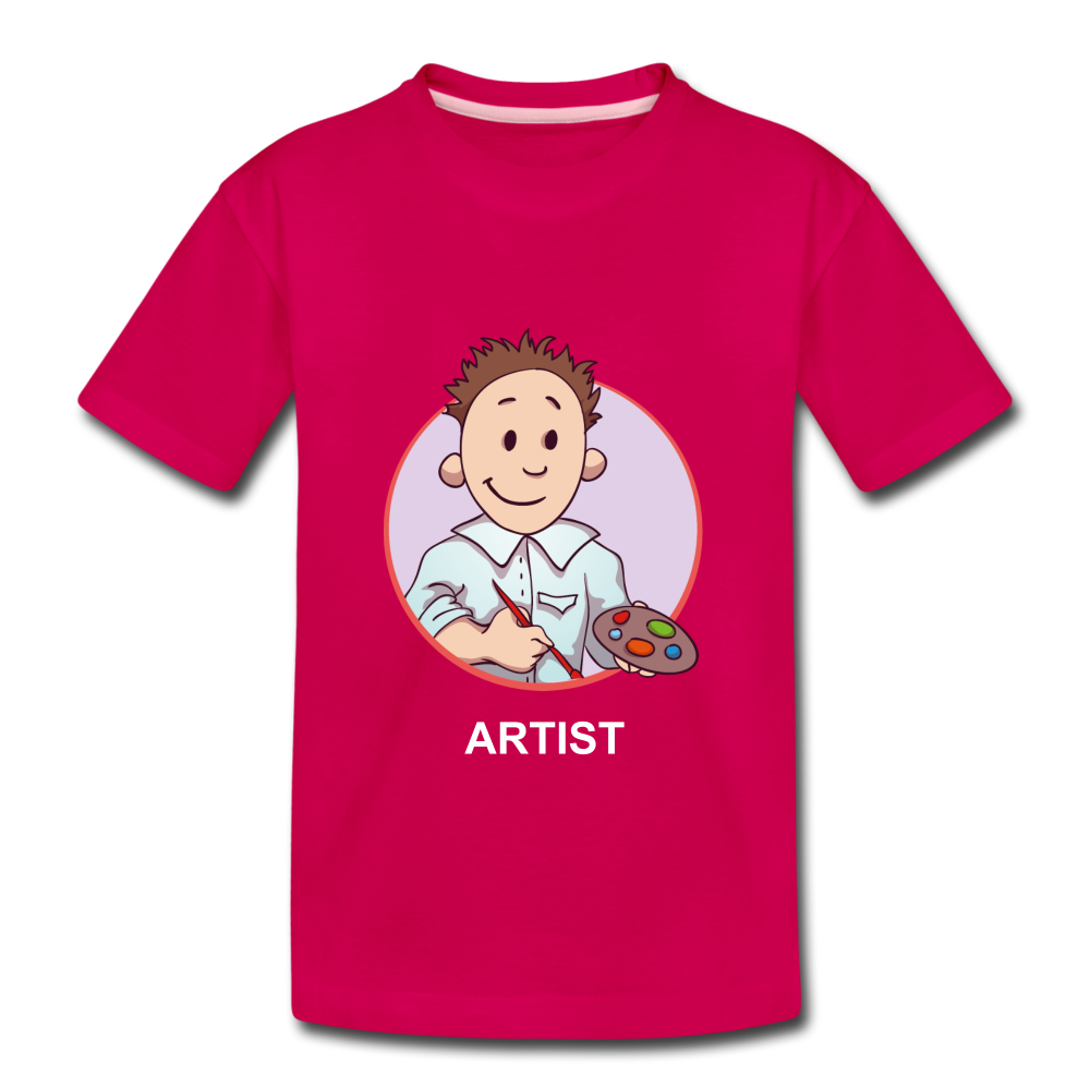 Kids' Premium T-Shirt - dark pink