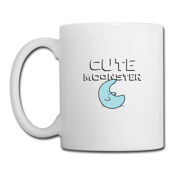 Cute Moonster Coffee/Tea Mug - white