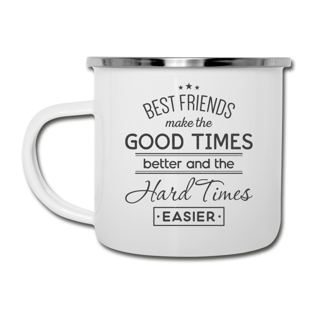 Best Friends Camper Mug - white
