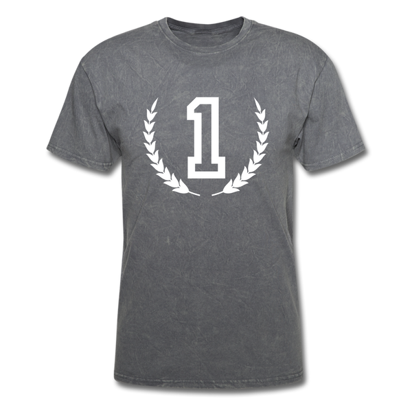 1 Men's T-Shirt - mineral charcoal gray