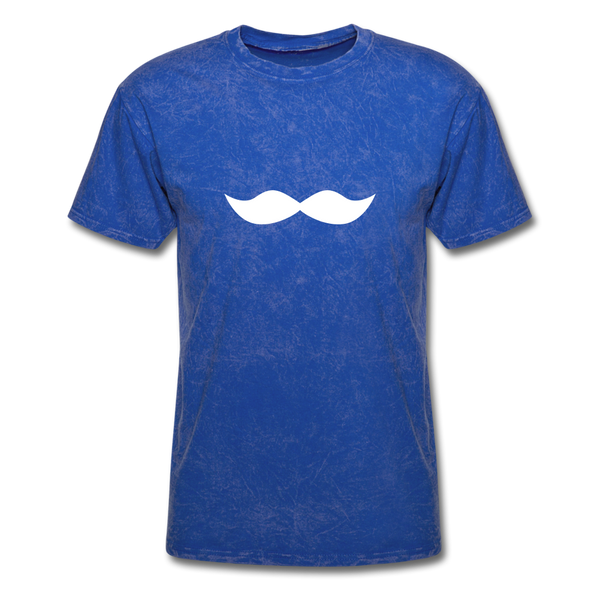 Mustache Movember  Men's T-Shirt - mineral royal