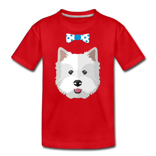 Cute Kids' Premium T-Shirt - red