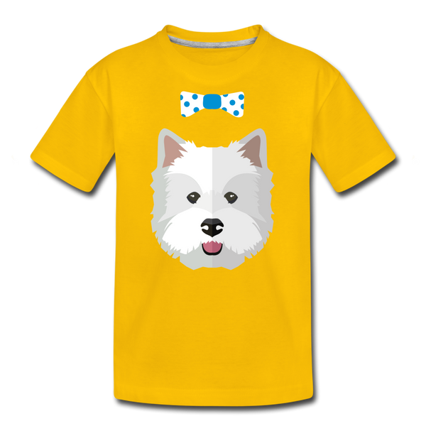Cute Kids' Premium T-Shirt - sun yellow