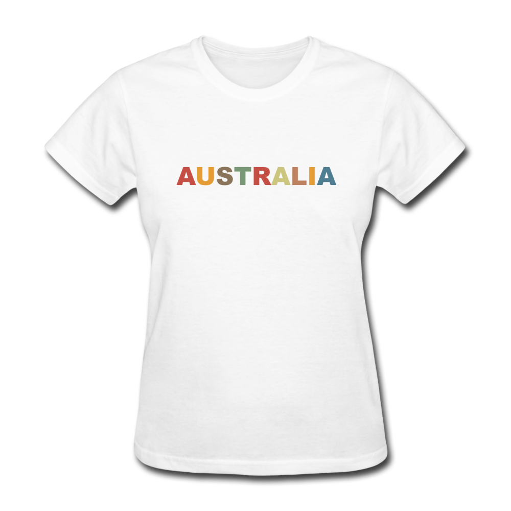 Australia Women's T-Shirt - white