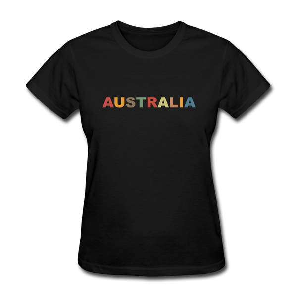 Australia Women's T-Shirt - black