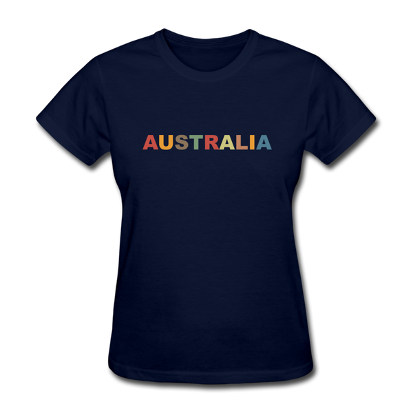 Australia Women's T-Shirt - navy