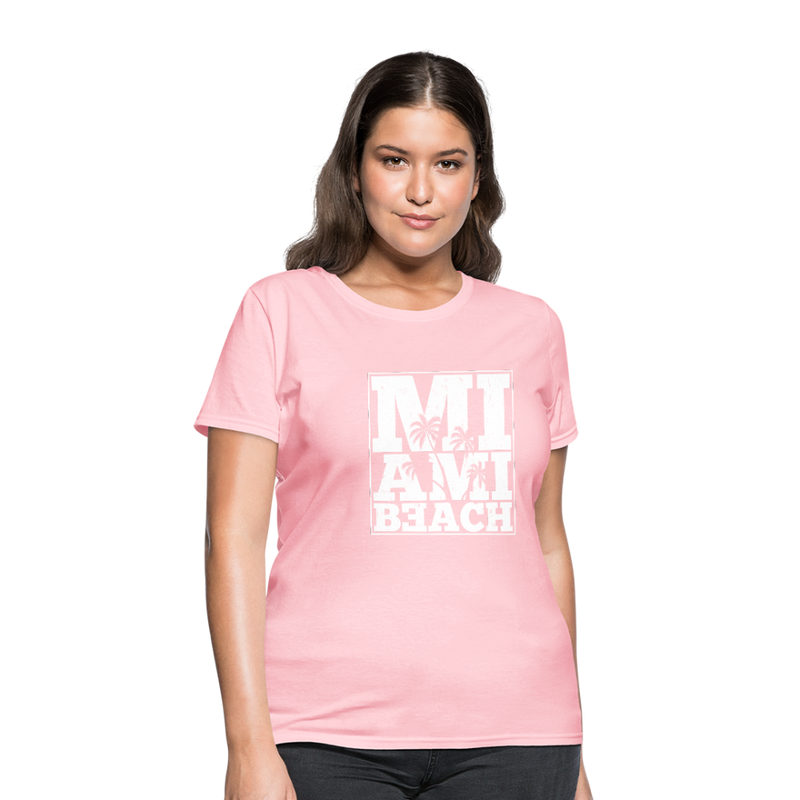 Miami Beach Women's T-Shirt - pink