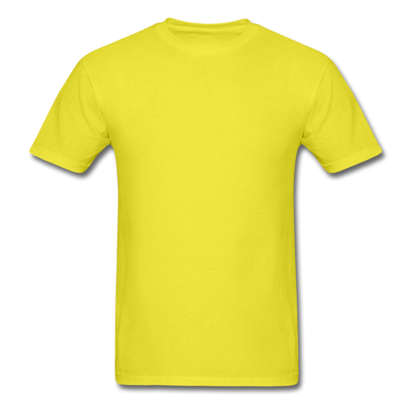Bright Colors Men's T-Shirt - yellow