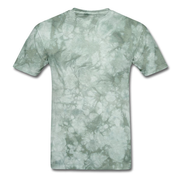 Bright Colors Men's T-Shirt - military green tie dye