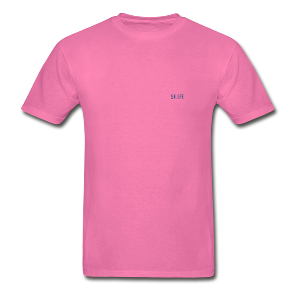 Hanes Adult Tagless T-Shirt - hot pink