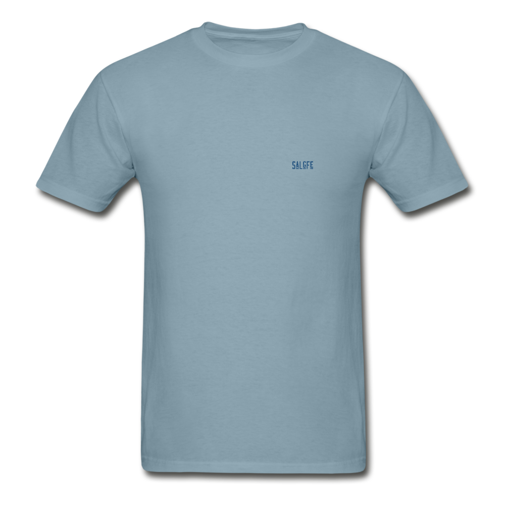 Hanes Adult Tagless T-Shirt - stonewash blue