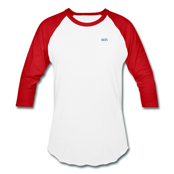 Baseball T-Shirt - white/red