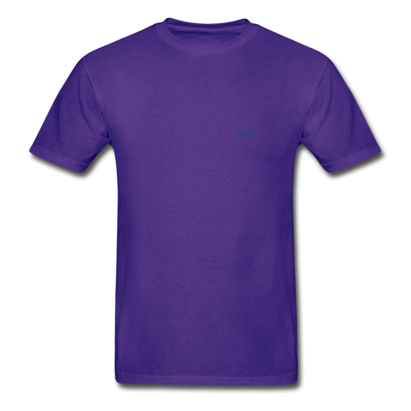 Hanes Adult Tagless T-Shirt - purple