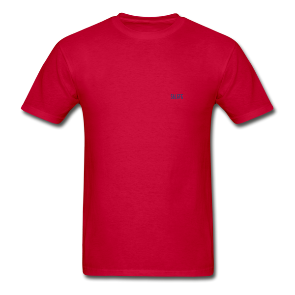 Hanes Adult Tagless T-Shirt - red