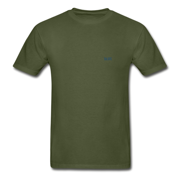 Hanes Adult Tagless T-Shirt - military green