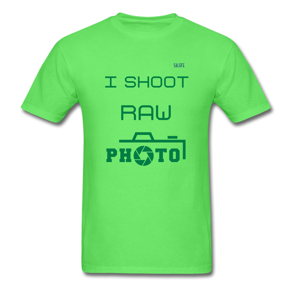 I Shoot Raw Men's T-Shirt - kiwi