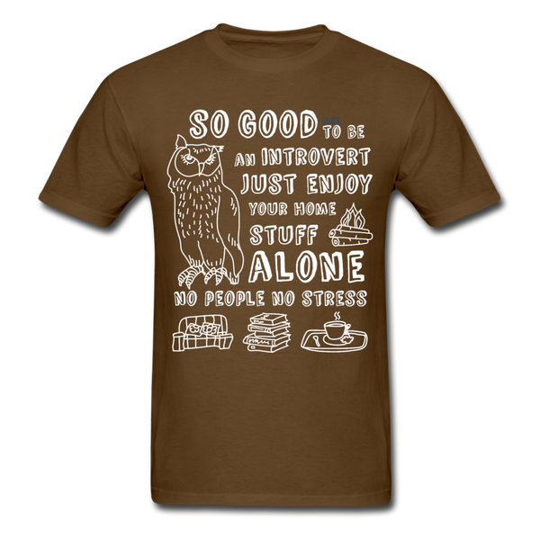 So Good Men's T-Shirt - brown