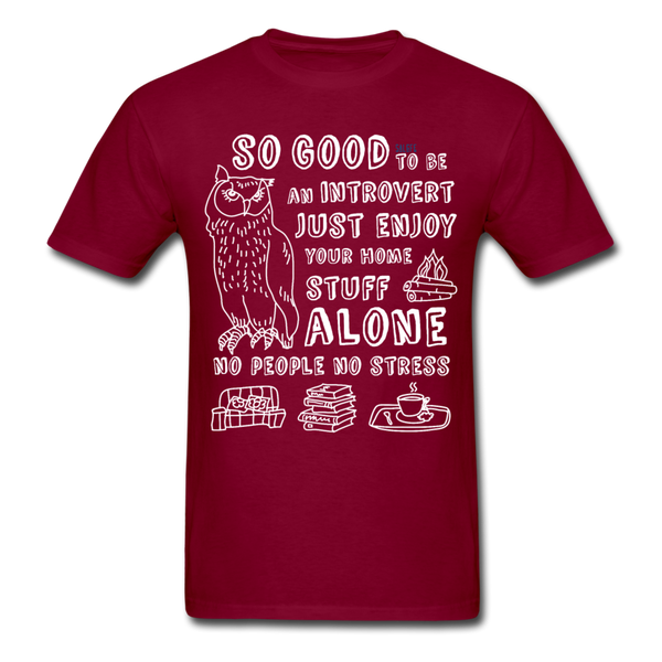 So Good Men's T-Shirt - burgundy