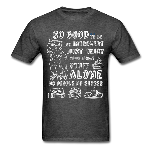 So Good Men's T-Shirt - heather black