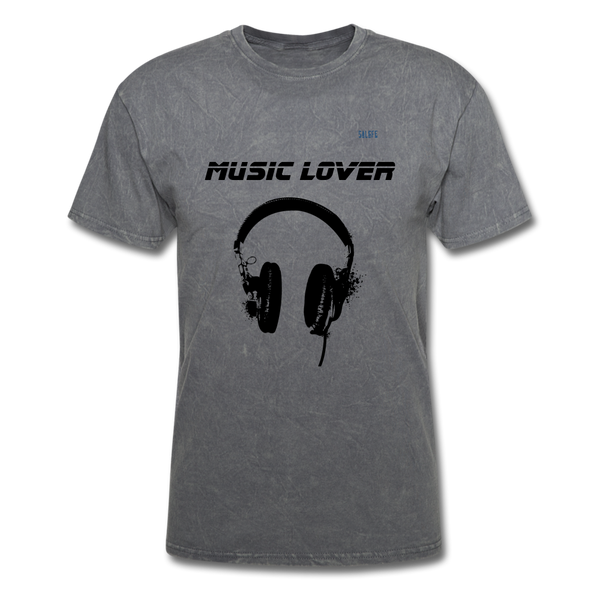 Music Lover Men's T-Shirt - mineral charcoal gray