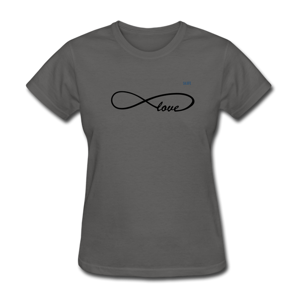 Love Women's T-Shirt - charcoal