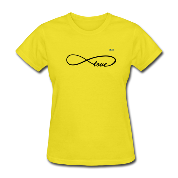 Love Women's T-Shirt - yellow