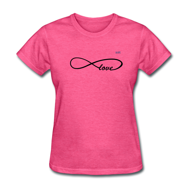 Love Women's T-Shirt - heather pink