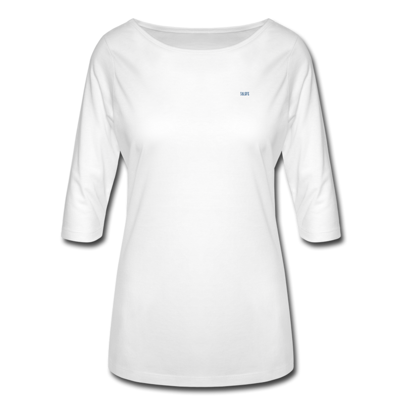 Women's 3/4 Sleeve Shirt - white