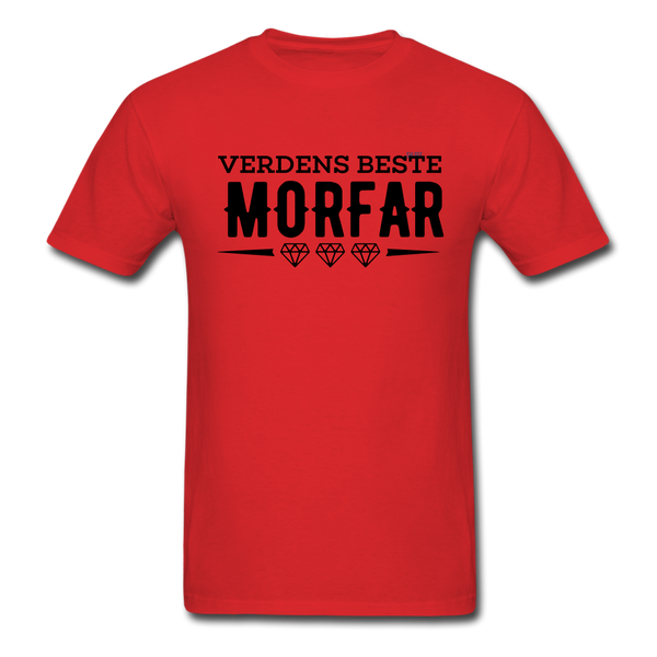 Morfar Men's T-Shirt - red