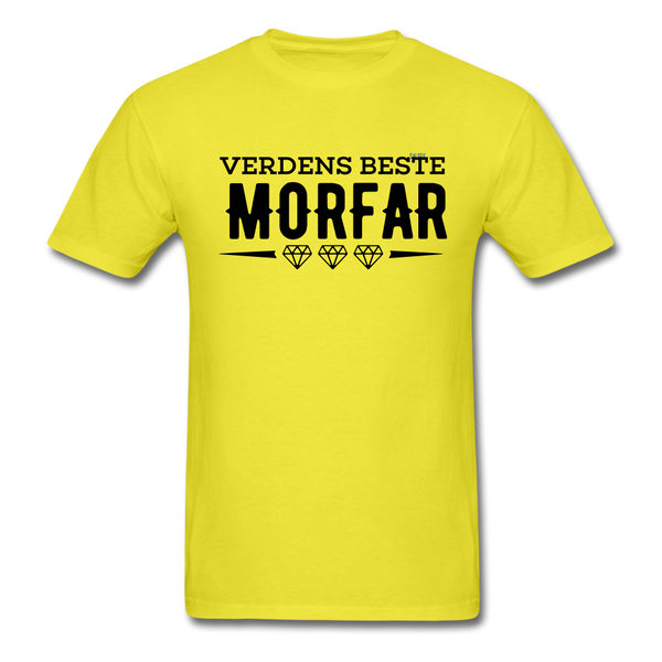 Morfar Men's T-Shirt - yellow