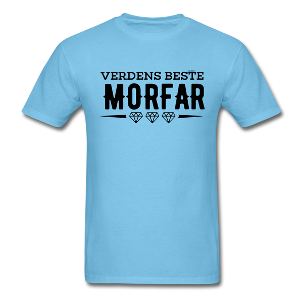 Morfar Men's T-Shirt - aquatic blue