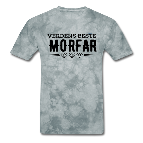 Morfar Men's T-Shirt - grey tie dye