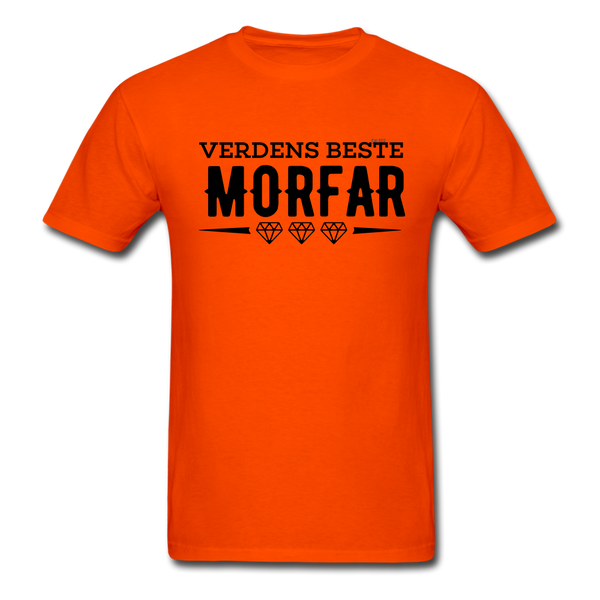 Morfar Men's T-Shirt - orange