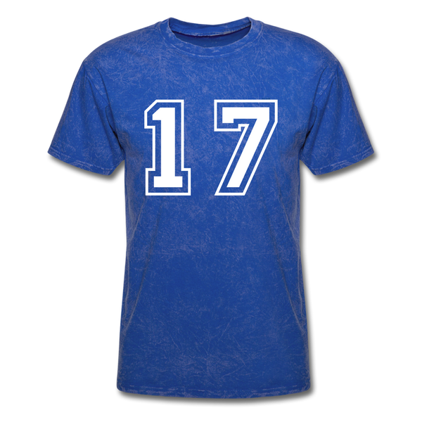 Number 17 Men's T-Shirt - mineral royal