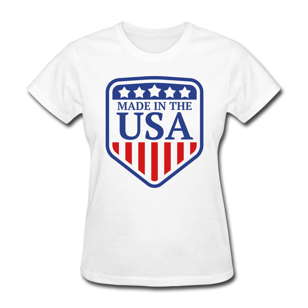 Made in USA Women's T-Shirt - white
