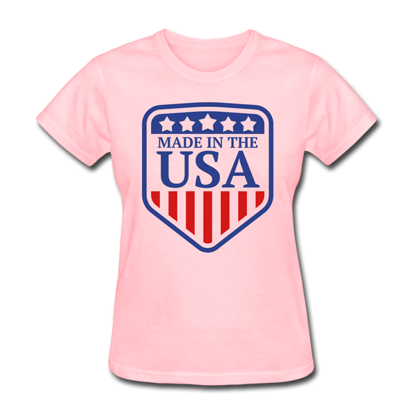Made in USA Women's T-Shirt - pink
