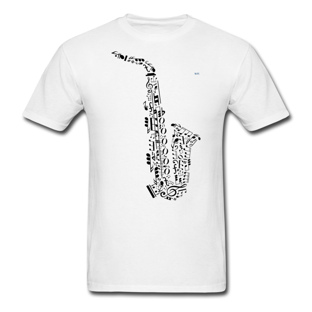 Music Men's T-Shirt - white