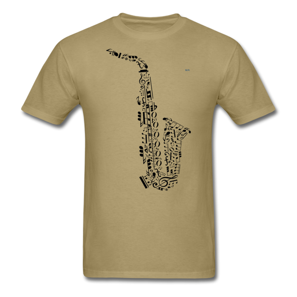 Music Men's T-Shirt - khaki