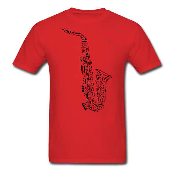 Music Men's T-Shirt - red