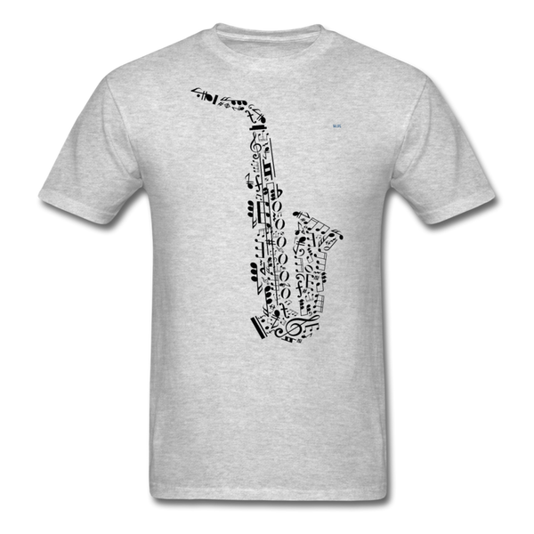 Music Men's T-Shirt - heather gray