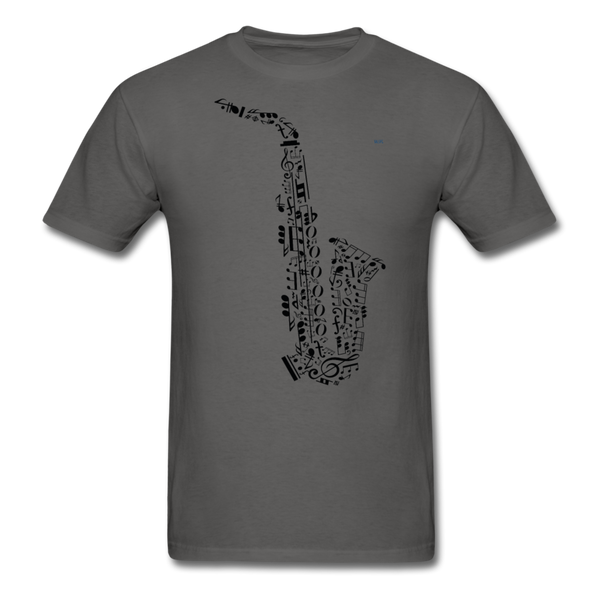Music Men's T-Shirt - charcoal