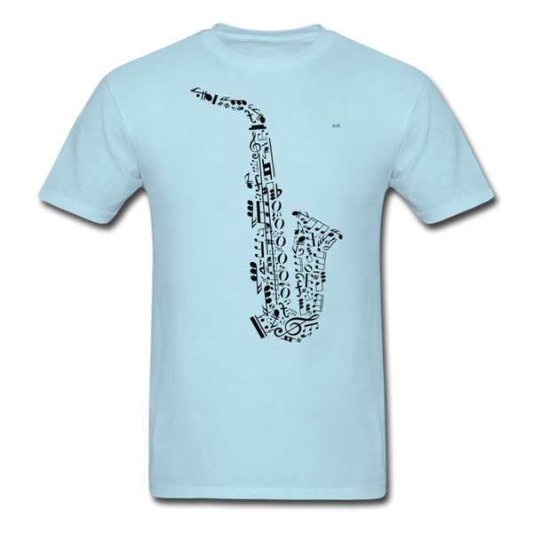 Music Men's T-Shirt - powder blue