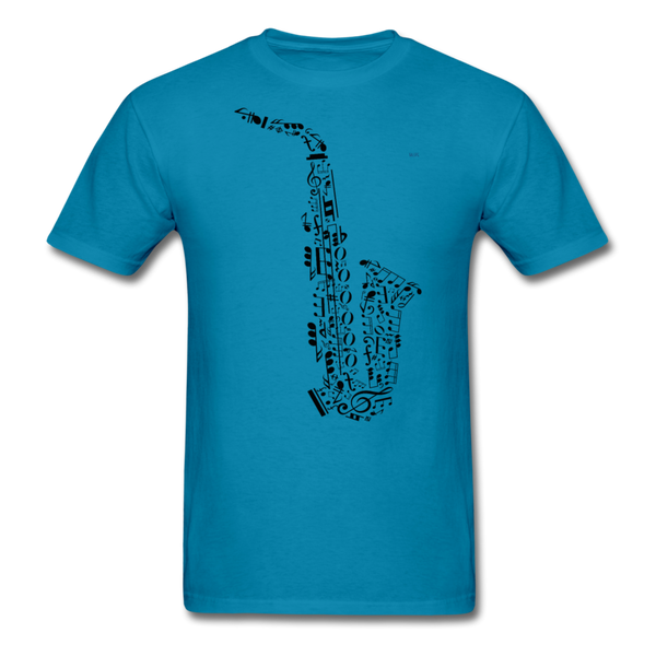 Music Men's T-Shirt - turquoise